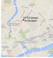 L'opticien à Nantes : Plan du magasin OPTO Design